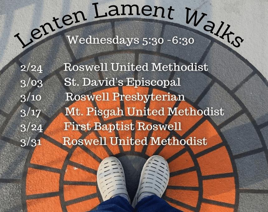 Lenten Lament Walk